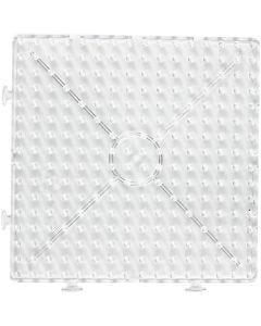 Pannello a pioli, quadrato grande, JUMBO, transparent, 1 pz