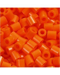 PhotoPearls, misura 5x5 mm, misura buco 2,5 mm, arancio chiaro (13), 1100 pz/ 1 conf.