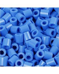 PhotoPearls, misura 5x5 mm, misura buco 2,5 mm, blu (17), 6000 pz/ 1 conf.