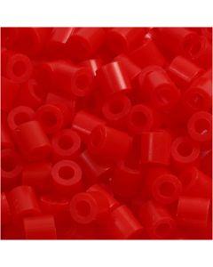 PhotoPearls, misura 5x5 mm, misura buco 2,5 mm, rosso chiaro (19), 1100 pz/ 1 conf.