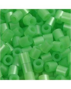 PhotoPearls, misura 5x5 mm, misura buco 2,5 mm, verde madreperlato (22), 6000 pz/ 1 conf.