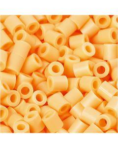 PhotoPearls, misura 5x5 mm, misura buco 2,5 mm, arancio chiaro (26), 1100 pz/ 1 conf.
