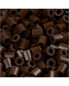 PhotoPearls, misura 5x5 mm, misura buco 2,5 mm, marrone scuro (2), 1100 pz/ 1 conf.