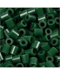 PhotoPearls, misura 5x5 mm, misura buco 2,5 mm, verde scuro (9), 6000 pz/ 1 conf.