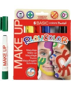 Playcolor Make Up, colori asst., 6x5 g/ 1 conf.