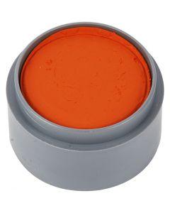Pittura facciale a base d'acqua, arancio, 15 ml/ 1 vasch.
