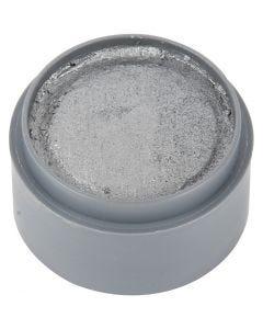 Pittura facciale a base d'acqua, argento, 15 ml/ 1 vasch.