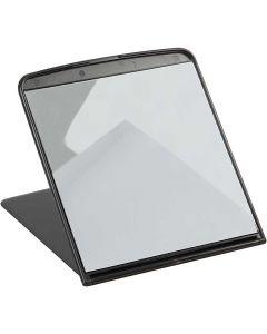 Specchio da tavolo pieghevole, H: 18 cm, L: 16 cm, 1 pz