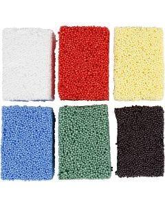 Soft Foam, colori standard, 6x10 g/ 1 conf.