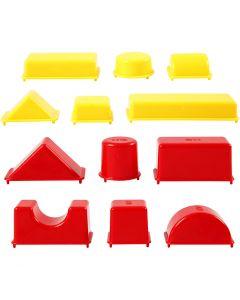 Stampini, geometrici, misura 3,5-9,5 cm, 12 pz/ 1 conf.