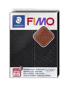 FIMO® effetto cuoio , black (909), 57 g/ 1 conf.