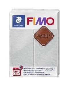 FIMO® effetto cuoio , dove grey (809), 57 g/ 1 conf.