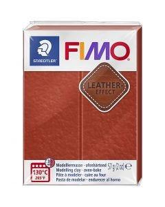FIMO® effetto cuoio , rust (749), 57 g/ 1 conf.