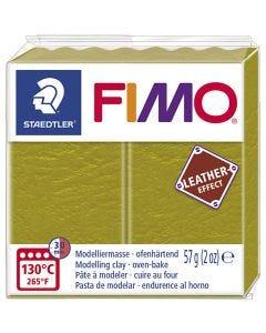 FIMO® effetto cuoio , olive (519), 57 g/ 1 conf.