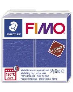 FIMO® effetto cuoio , indigo (309), 57 g/ 1 conf.