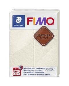 FIMO® effetto cuoio , Ivory (029), 57 g/ 1 conf.