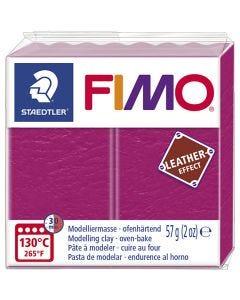 FIMO® effetto cuoio , berry (229), 57 g/ 1 conf.
