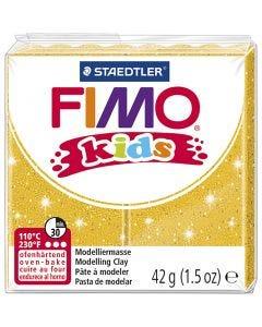 FIMO® per bimbi, glitter, oro, 42 g/ 1 conf.