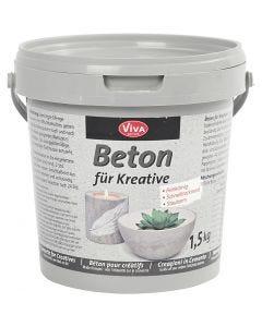 Cemento creativo, grigio, 1500 g/ 1 conf.
