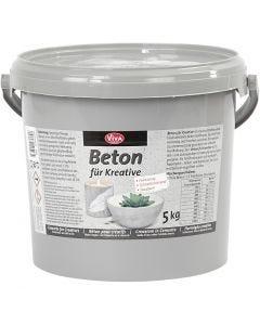 Cemento creativo, grigio, 5000 g/ 1 conf.