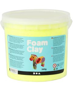 Foam Clay® , giallo neon, 560 g/ 1 secch.