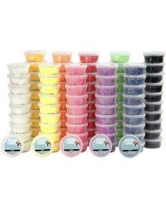 Foam Clay® , colori asst., 10x10 vasch./ 1 conf.