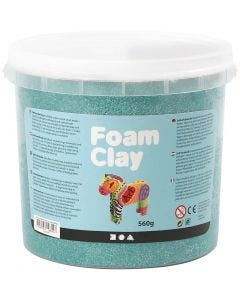 Foam Clay® , verde scuro, 560 g/ 1 secch.