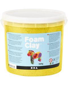 Foam Clay® , metallico, giallo, 560 g/ 1 secch.