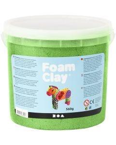Foam Clay® , metallico, verde, 560 g/ 1 secch.