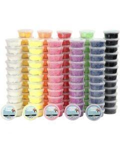 Foam Clay® , colori asst., 10x12 vasch./ 1 conf.