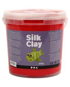 Silk Clay®, rosso, 650 g/ 1 secch.