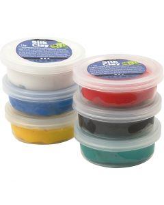 Silk Clay®, colori standard, 6x14 g/ 1 conf.