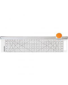 Combo Rotary Cutter & Ruler, L: 62 cm, L: 15,5 cm, 1 pz