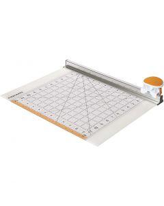 Combo Rotary Cutter & Ruler, L: 31 cm, 1 pz