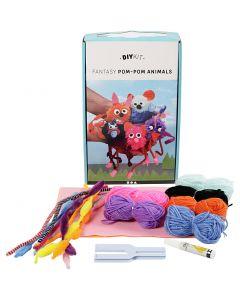 Kit filo fai-da-te - Animali, 1 set
