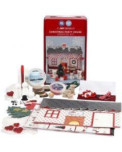 Casetta delle feste natalizia, 1 set