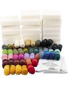 Kit di apprendimento creativo, natural, 1 set