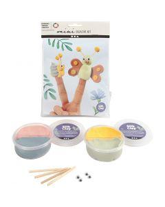 Mini Kit Creativo, bambole con le dita, 1 set