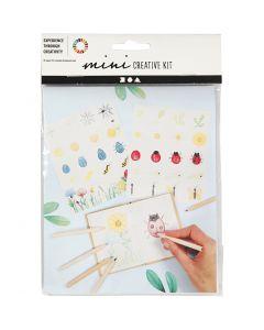 Mini Kit Creativo, Insetti, 1 set
