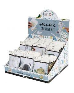 Display da tavolo con mini kit creativi, 60 set/ 1 conf.