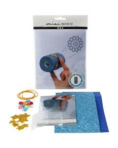 Mini Kit Creativi, Caleidoscopio di carta igienica, 1 set
