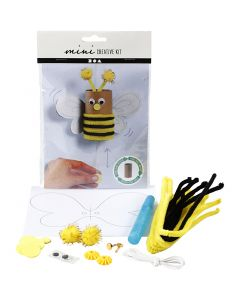 Mini kit creativi, Ape con rotolo di carta igienica, 1 set