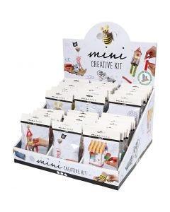 Display da banco con mini kit creativi, 60 set/ 1 conf.