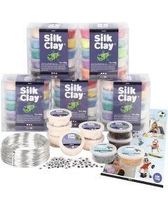 Silk Clay® set classe con personaggi, 1 set
