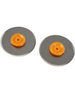 Lame a rotella per Rotary Paper Trimmer di Fiskars, diam: 28 mm, 2 pz/ 1 conf.