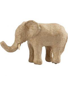 Elefante, H: 9 cm, L: 13 cm, 1 pz