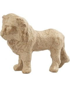 Leone, H: 9 cm, L: 13 cm, 1 pz