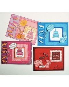 Fiskars Clear Stamps - Birthday