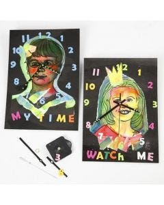 Laminated Clocks