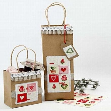 Christmas Presents in Gift Bags
